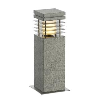 Granitowa lampa ogrodowa, sz. 17cm, granit