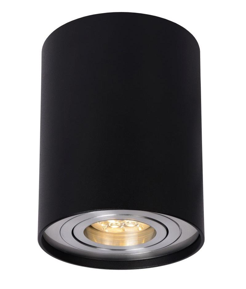 Lampa Sufitowa W Kształcie Tuby śr 9 5cm Czarna Dide