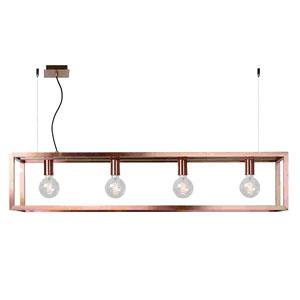 """Zabudowane lampy wiszące, sz. 120cm, kolor """"miedziany"""""""