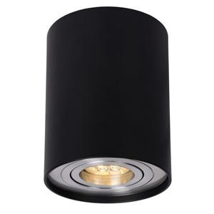 Lampa sufitowa w kształcie tuby, śr. 9.5cm, czarna