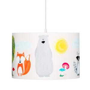 Lampa wisząca do pokoju dla dzieci, śr. 35cm